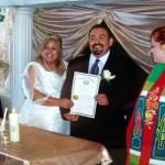 Arlington Wedding with Interfaith Blending of Families San Miguel Family Fun