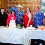 The Texas Twins Events Team Travel Back To Gordon, Texas 50th Anniversary Albert & Shirley Dickson