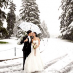 Planning a Winter Wedding Outdoors Can Be Tricky...Weddings by Wendy