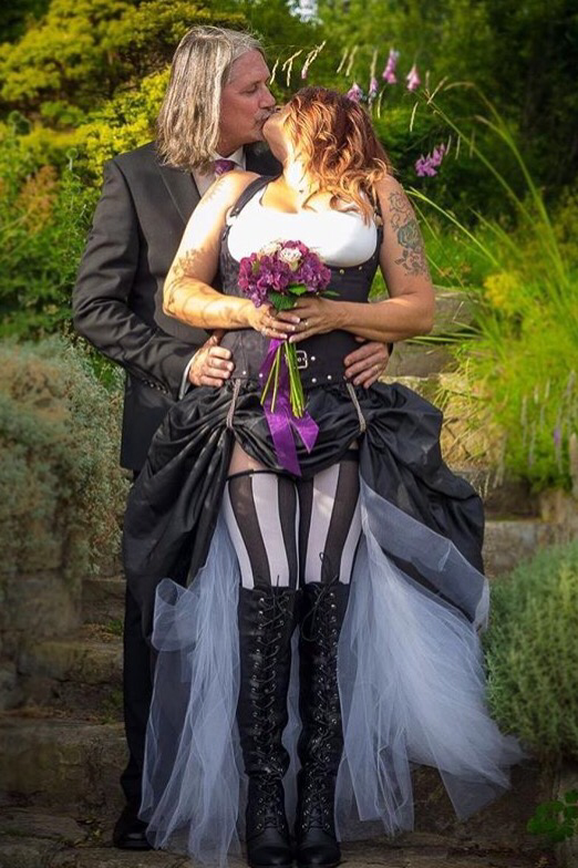 A wiccan wedding what is it and how does it work clothing of guests and members of the wedding party are often as unique as tattoos and their own personalities from gypsy type clothing to romantic gothic junglespirit Gallery